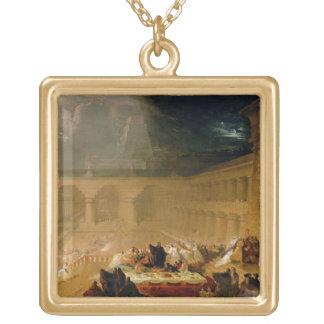 Belshazzar's Feast (oil on canvas) Custom Jewelry