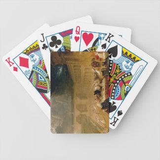 Belshazzar's Feast (oil on canvas) Poker Deck