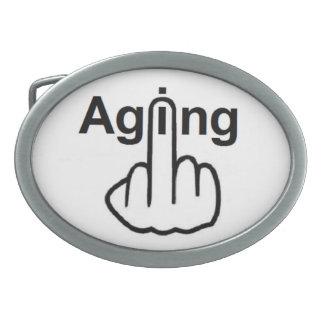 Belt Buckle Aging Flip