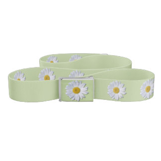 Belt - New Daisy on Sage