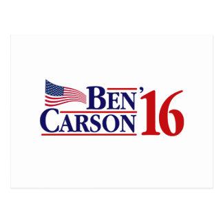 Ben Carson For President Postcard