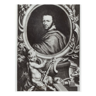 Ben Jonson  English playwright Postcard