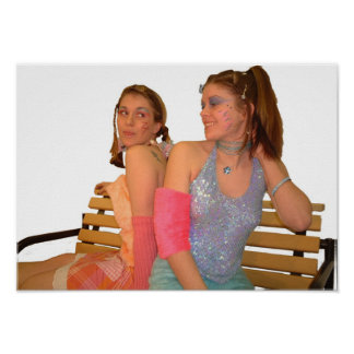 bench.tv sisters from space poster