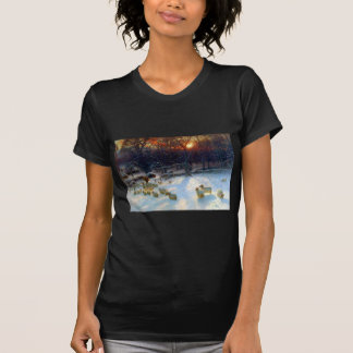Beneath The Snow Encumbered Branches T-Shirt