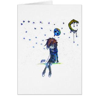 beneath the stars greeting card