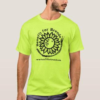 Benefit for Brenda Logo Black - Customizable T-Shirt