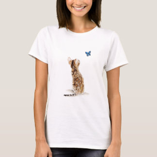 Bengal Cat  & Butterfly T-Shirt