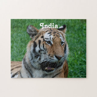 Bengal Tiger in India Jigsaw Puzzle
