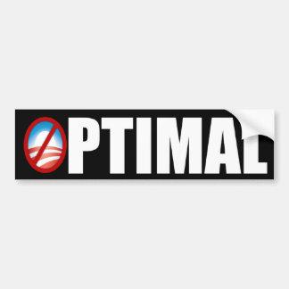 Benghazi - Optimal - Anti Obama Bumper Sticker