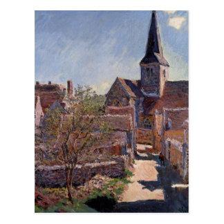 Bennecourt by Claude Monet Postcard