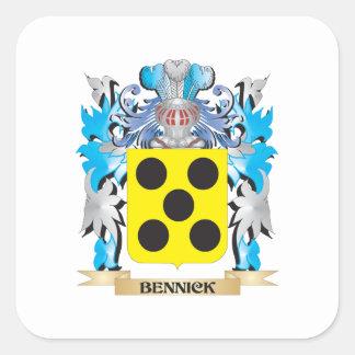 Bennick Coat of Arms Sticker