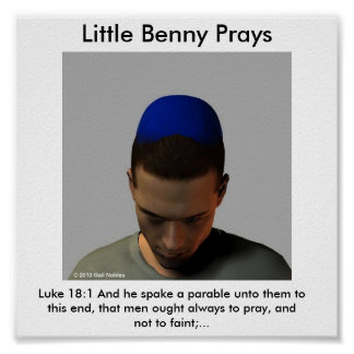 Benny Prays Poster