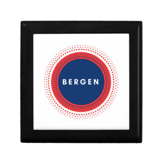 Bergen Norway Gift Box