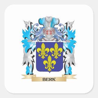 Berk Coat of Arms Stickers