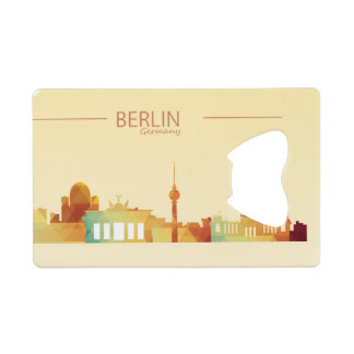 Berlin, Germany Credit Card Bottle Opener