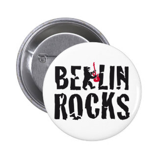 Berlin of skirt 6 cm round badge