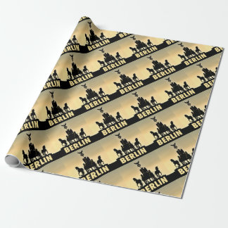 BERLIN Quadriga 002.1 Brandenburg Gate Wrapping Paper