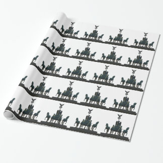 BERLIN Quadriga at Brandenburg Gate Wrapping Paper