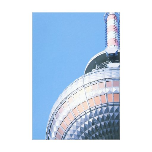 Berlin TV Tower Stretched Canvas Print