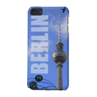 "BERLIN TV Tower with Detail of ""World Time Clock"" iPod Touch 5G Case"