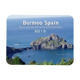 Bermeo Spain Gaztelugatxe Magnet Change Year