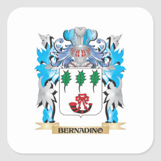 Bernadino Coat of Arms Stickers