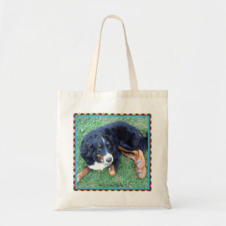 Berner in Moccs Tote Bag