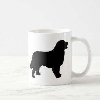 Bernese Mountain Dog (black silhouette) Coffee Mug
