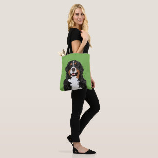 BERNESE MOUNTAIN DOG FOR BERNESE MOUNTAIN PARENTS TOTE BAG