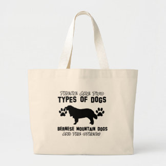 bernese mountain dog gift items large tote bag