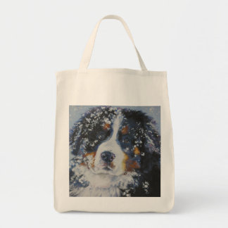 Bernese Mountain Dog Grocery Tote