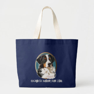 Bernese Mountain Dog Large Tote Bag