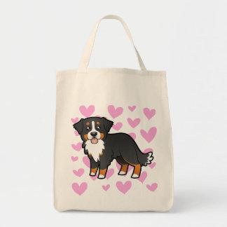 Bernese Mountain Dog Love Tote Bag