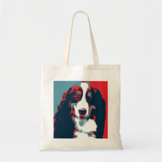 Bernese Mountain Dog Political Parody Poster