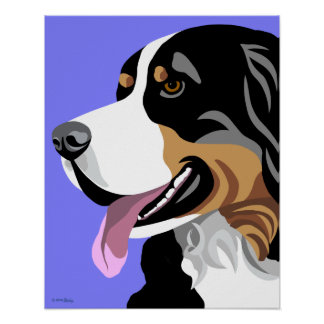 Bernese Mountain Dog Posters