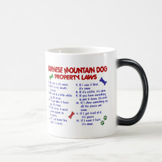 BERNESE MOUNTAIN DOG Property Laws 2 Magic Mug