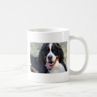 Bernese Mountain Dog with Big Tongue Coffee Mug