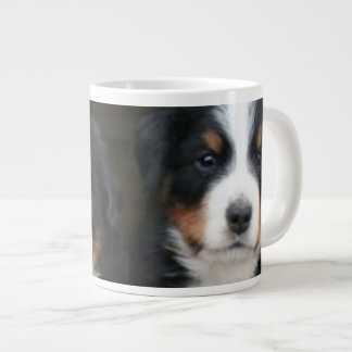 Bernese mountain dogs large coffee mug
