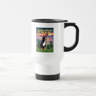 Bernese Mt. Dog Travel Mug