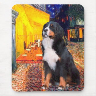 Bernese - Terrace Cafe Mouse Pad