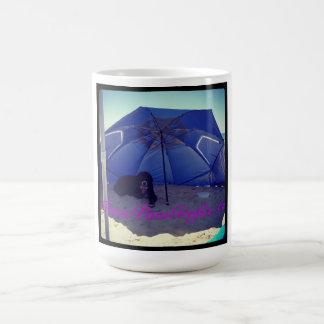 Bernese Under the Beach Umbrella Coffee Mug