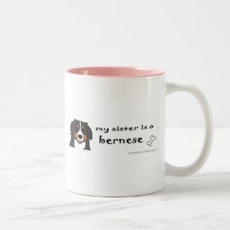 BerneseSister Two-Tone Coffee Mug