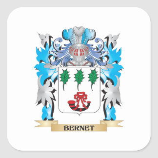Bernet Coat of Arms Stickers