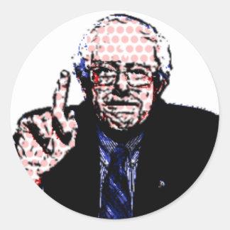 Bernie Sanders 2016 Classic Round Sticker
