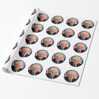 bernie sanders president wrapping paper
