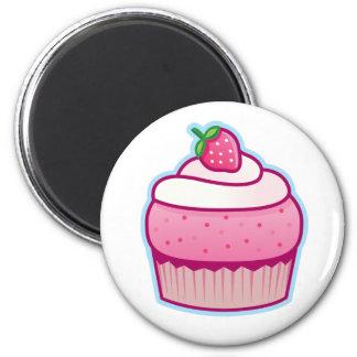 berry cupcake magnet