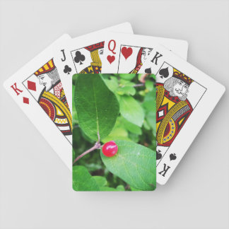 Berry in Boothbay Theme Playing Cards, Index faces Playing Cards