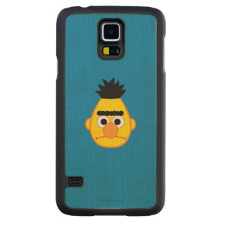Bert Angry Face Maple Galaxy S5 Slim Case