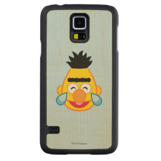 Bert Face with Tears of Joy Carved Maple Galaxy S5 Case
