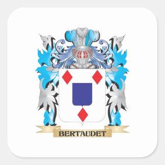 Bertaudet Coat of Arms Stickers